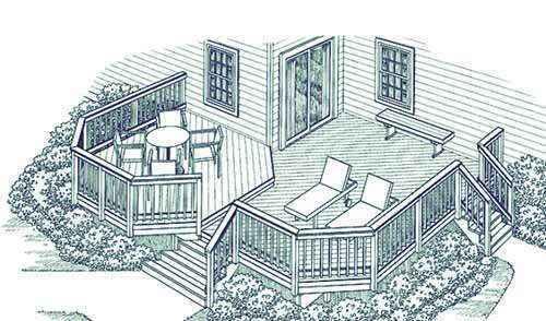 image41 | Лучшие проекты террасы для загородного дома