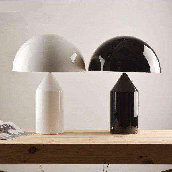 mushroom-shaped-black-designer-table-lamps-600x600 | Необычное рядом: дизайнерские настольные лампы