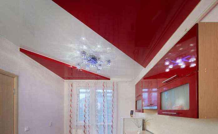 natyazhnoy-potolok-na-kuhne-01 | Натяжной потолок на кухне