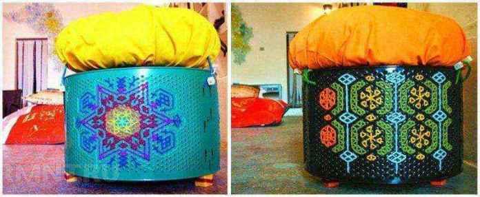 image4-7   Потрясающие идеи использования старой стиральной машины