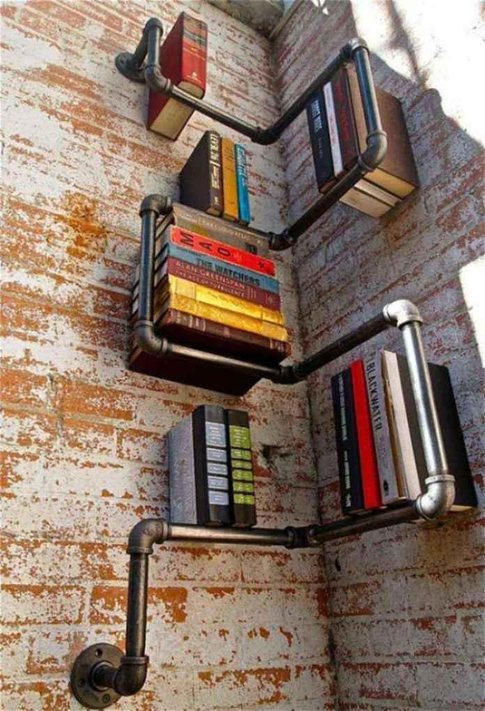 libreros-foto-17 | Идеи дизайна креативных книжных полок