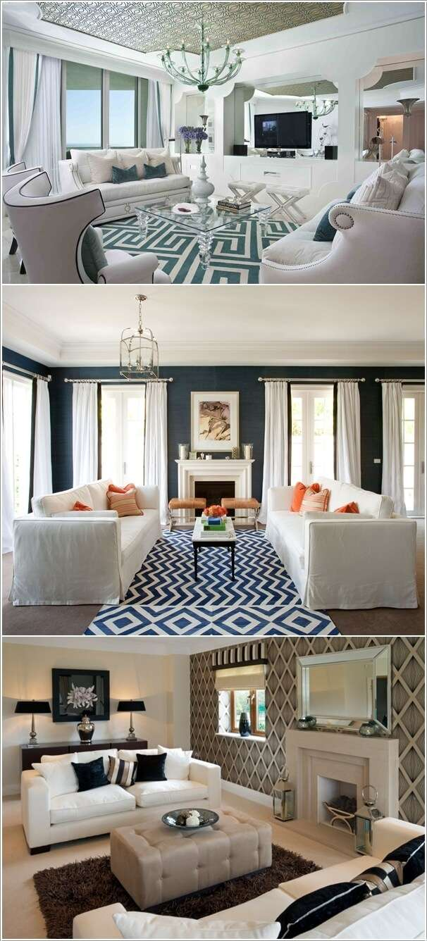 image10-64 | 10 идей как украсить гостиную белым диваном