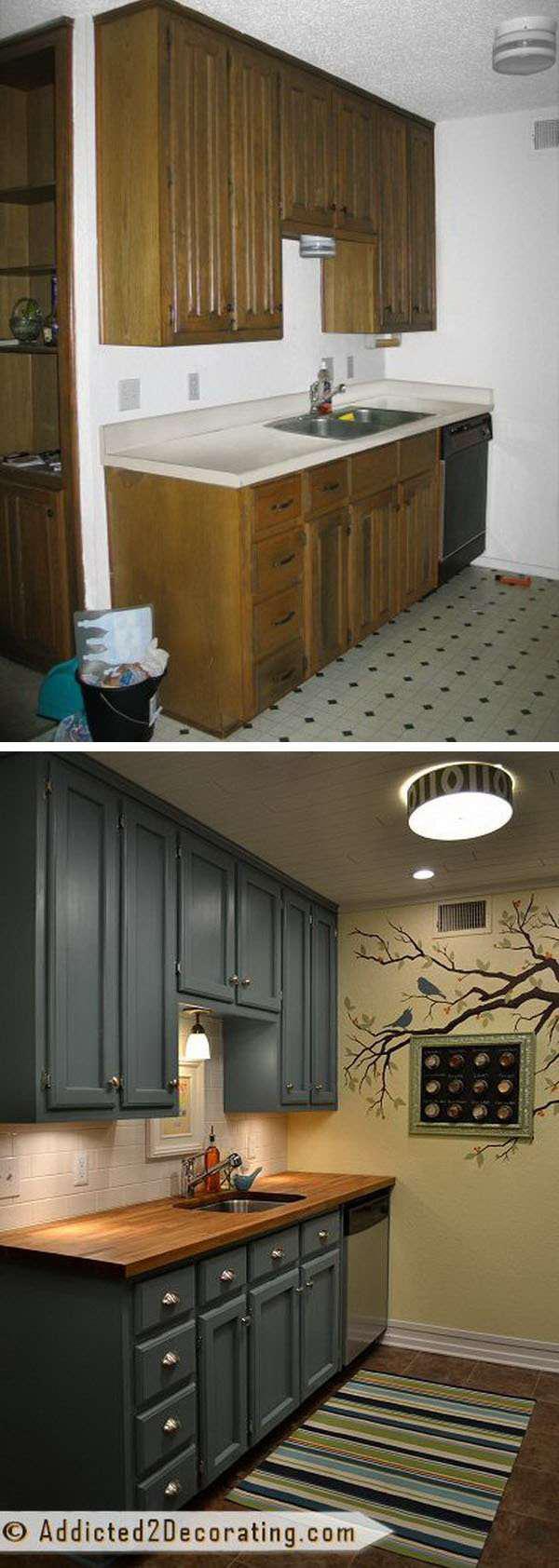 image23-7 | 25 идей переделки старой кухонной мебели