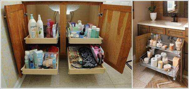 image4-34   Как организовать удобное хранение вещей в ванной
