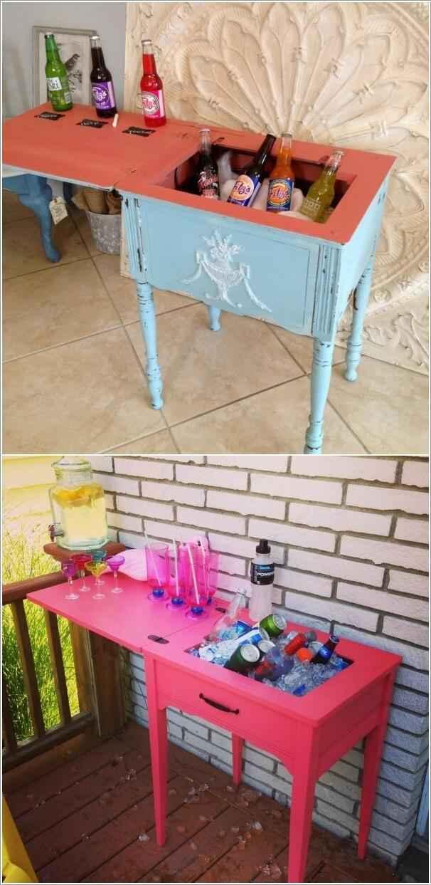 image5-3 | Что можно сделать из старого столика от швейной машинки