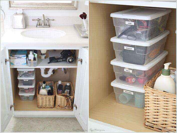 image6-35   Как организовать удобное хранение вещей в ванной