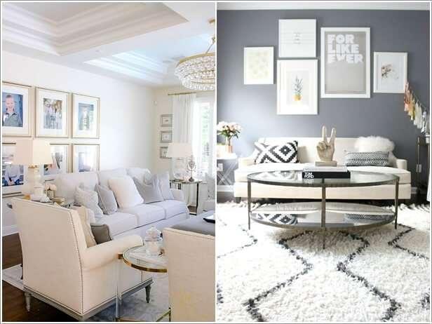 image6-76 | 10 идей как украсить гостиную белым диваном