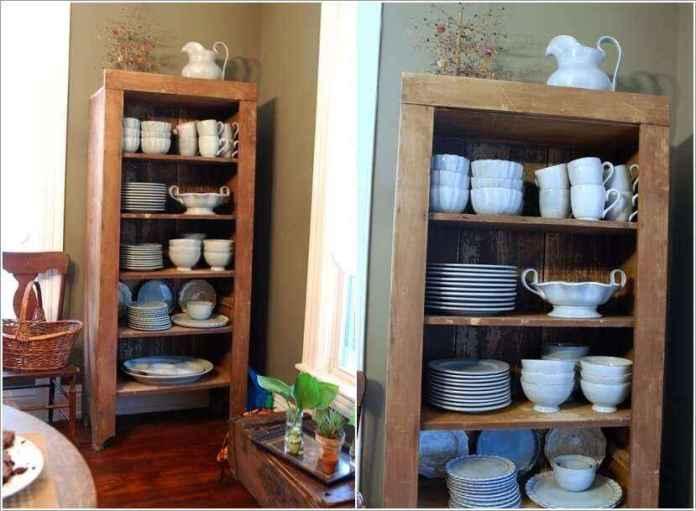 image7-47 | 10 способов переделки книжного шкафа в кухонный