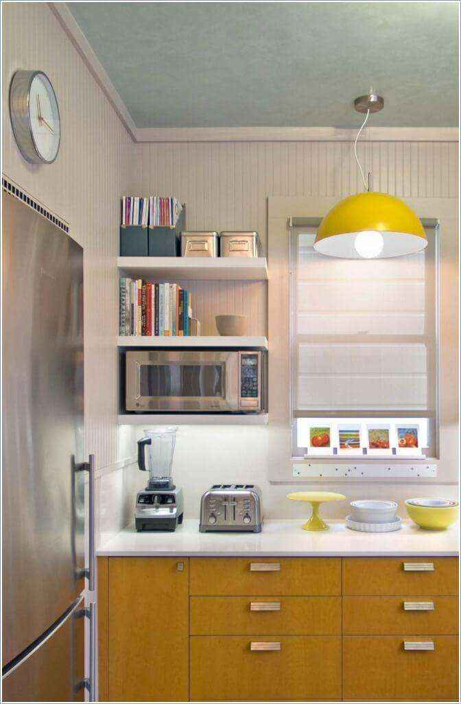 image9-38 | 10 способов зрительно расширить маленькую кухню
