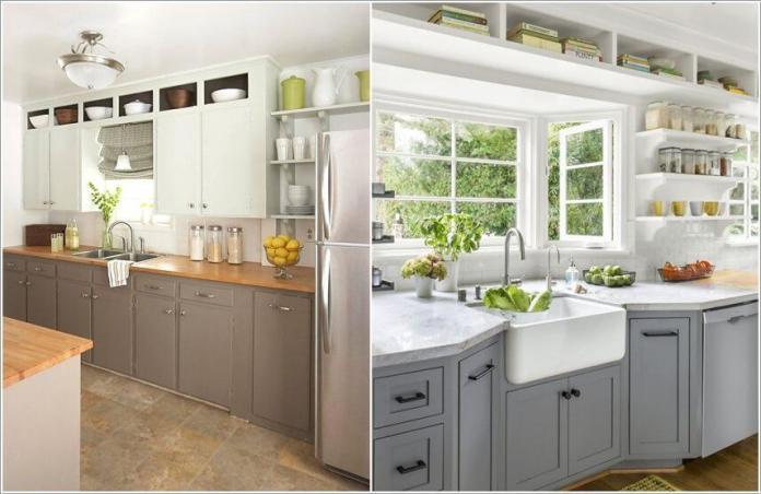 image1-55   10 способов использования пространства над кухонными шкафами