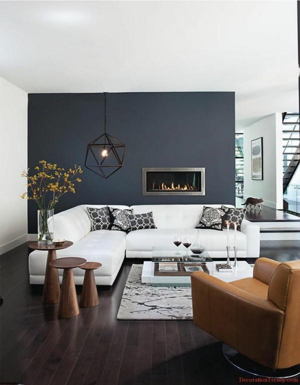 image15-2   30 идей темного деревянного пола в гостиной