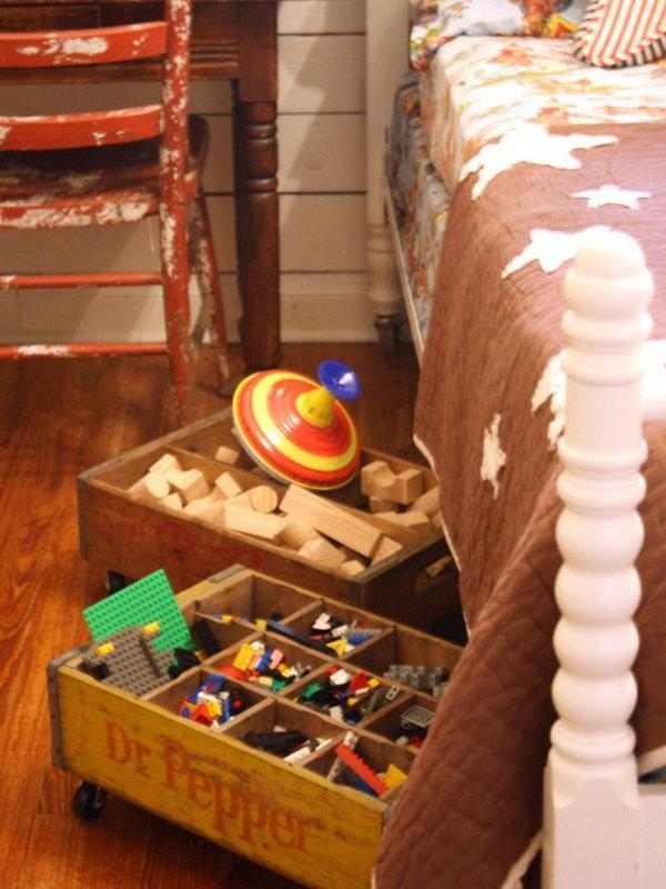 image17-9 | 20 идей хранения под кроватью