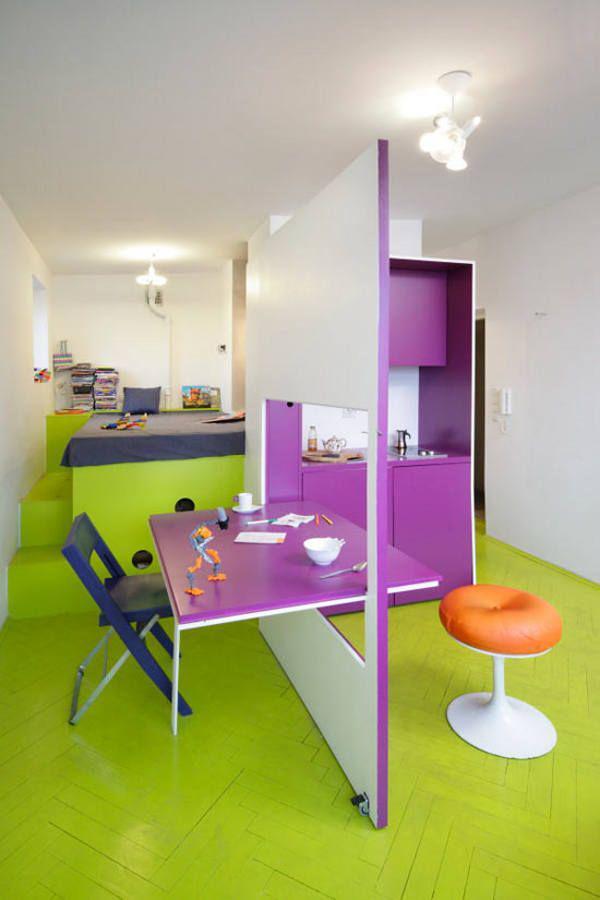 image27-4   30 лучших идей дизайна небольших квартир