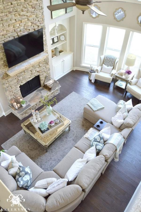 image3-20   30 идей темного деревянного пола в гостиной