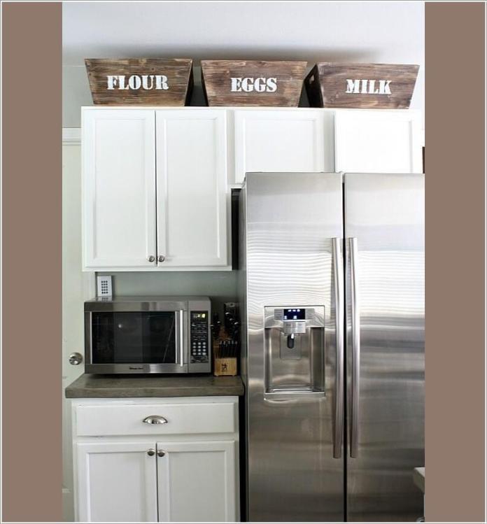 image4-56   10 способов использования пространства над кухонными шкафами