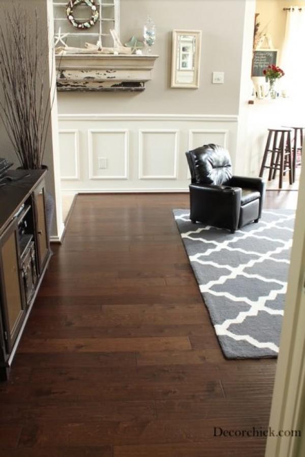 image8-20   30 идей темного деревянного пола в гостиной