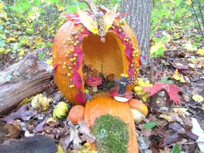 image15-19 | Очаровательные домики фей из тыквы