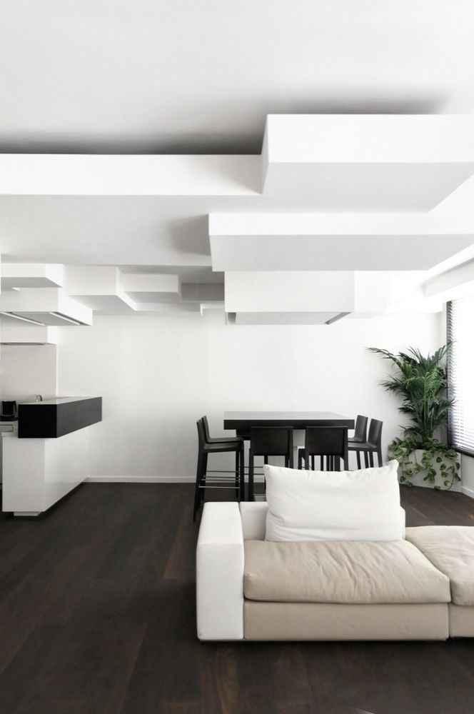 image21-3 | 30 примеров потолков из гипсокартона