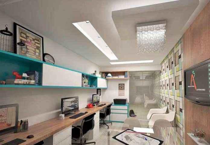 image26-3 | 30 примеров потолков из гипсокартона