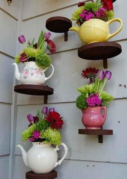 image7-68 | Чудесные цветочные горшки из старых чайников