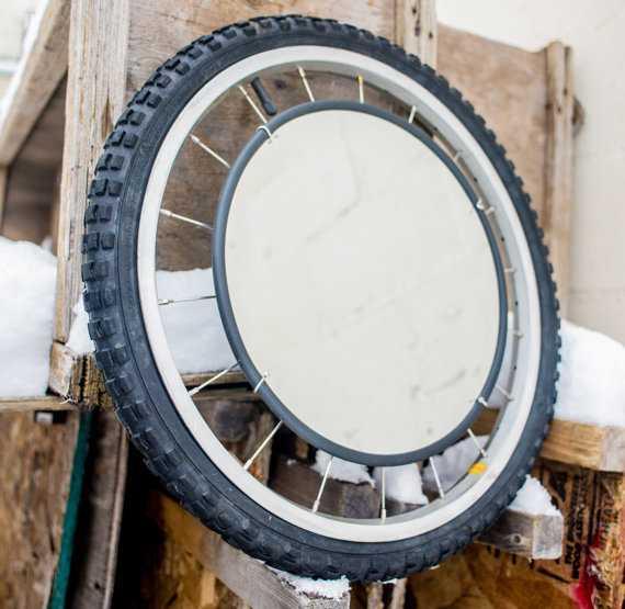 bw-002   Интересные идеи домашнего декора из старого велосипедного колеса