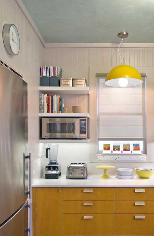 contemporary-kitchen-1 | 10 примеров крохотных кухонь
