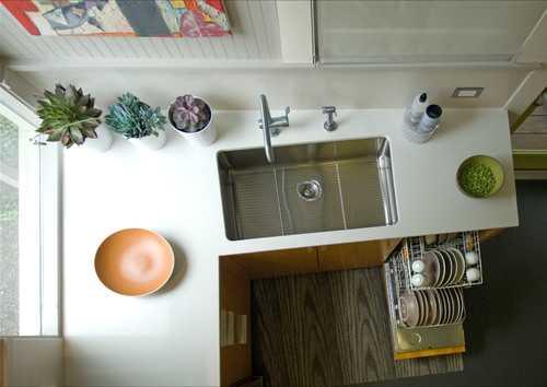 contemporary-kitchen-2 | 10 примеров крохотных кухонь