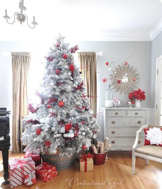 image10-25 | Белые елки как часть декора