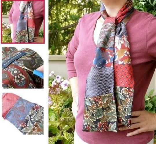 image11-36 | Что можно сделать из старых галстуков