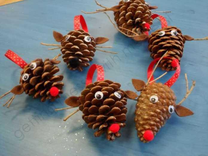 image19-1 | Праздничный декор из шишек своими руками