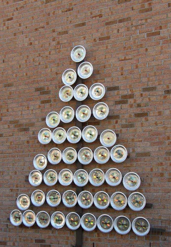 image20-4   Новогодние украшения из ненужных компакт-дисков