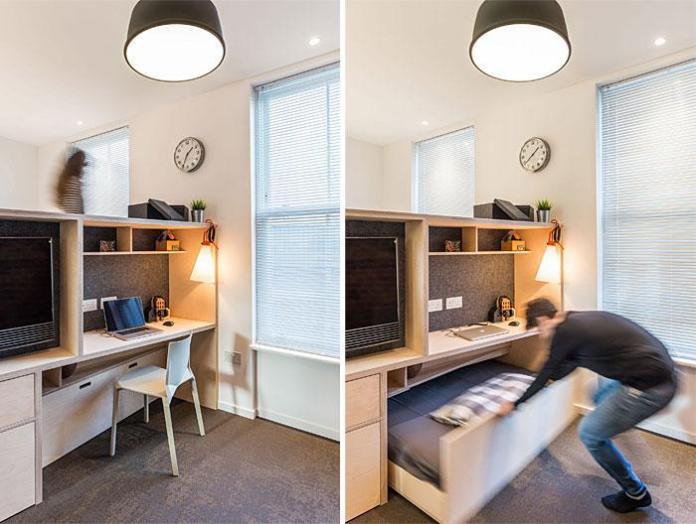 image25-5 | Идеи которые помогут спрятать гостевую кровать