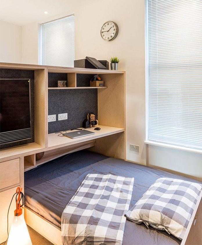 image26-4 | Идеи которые помогут спрятать гостевую кровать