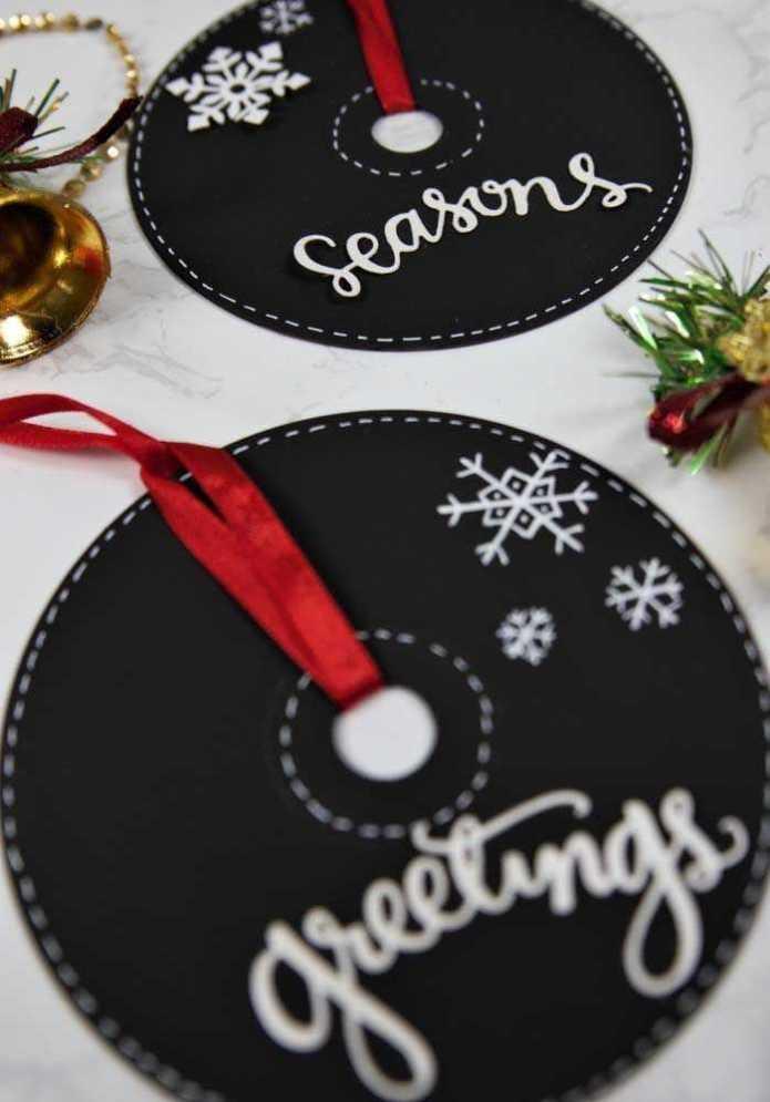 image5-33 | Новогодние и Рождественские украшения из компакт-дисков