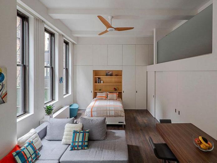 image9-50 | Идеи которые помогут спрятать гостевую кровать