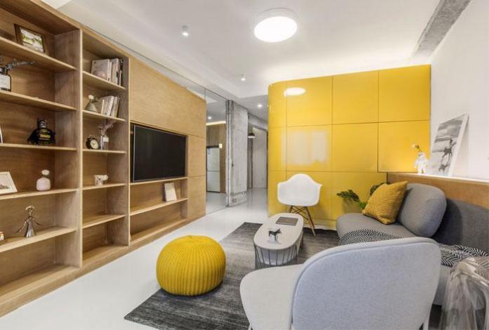 image2-4   Современный дизайн квартиры площадью 40 м²