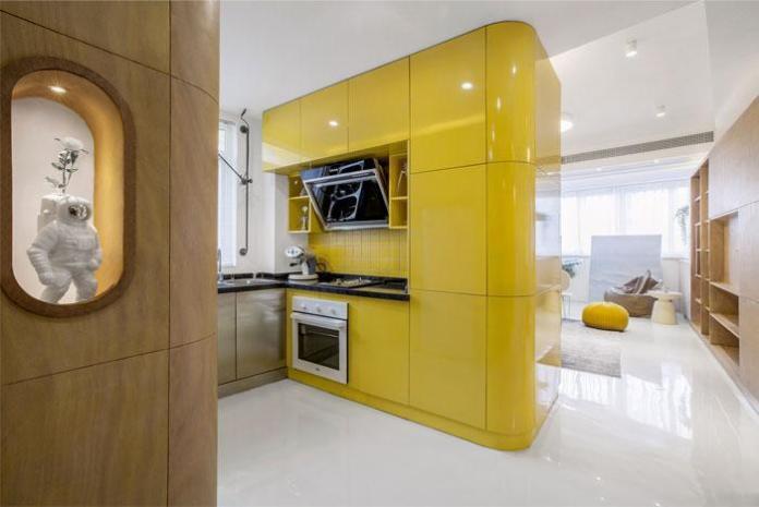 image5-4   Современный дизайн квартиры площадью 40 м²
