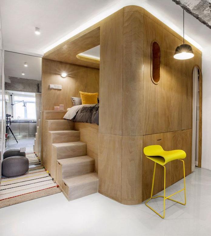 image7-3   Современный дизайн квартиры площадью 40 м²