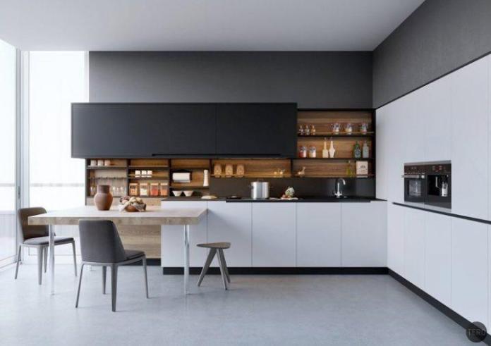 image4-6 | Идеи двухцветных шкафов для кухни