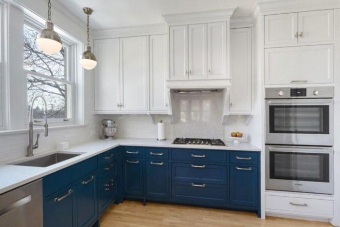 image6-5 | Идеи двухцветных шкафов для кухни