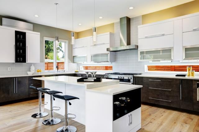 image7-5 | Идеи двухцветных шкафов для кухни