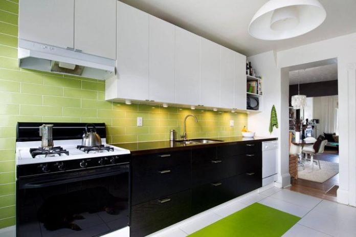 image9-5 | Идеи двухцветных шкафов для кухни