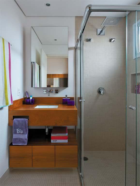 image17-9 | 30 идей дизайна маленьких ванных комнат