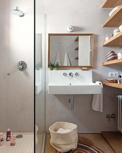 image26-4 | 30 идей дизайна маленьких ванных комнат
