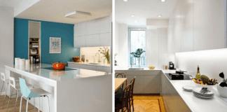 узкие кухни