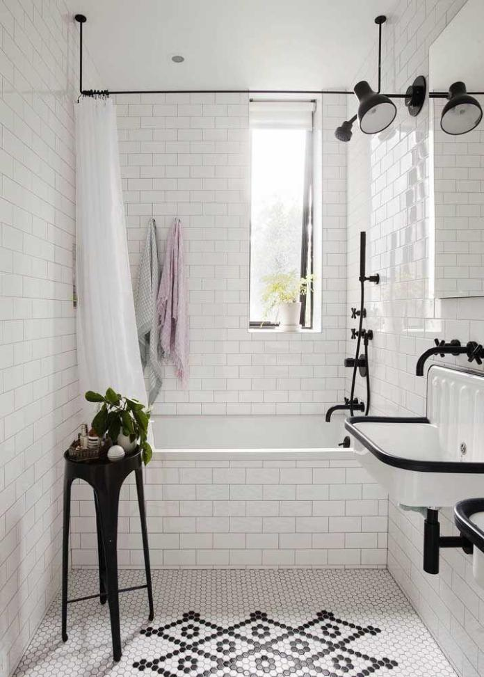 image29-7   Вдохновляющие идеи для маленьких ванных комнат