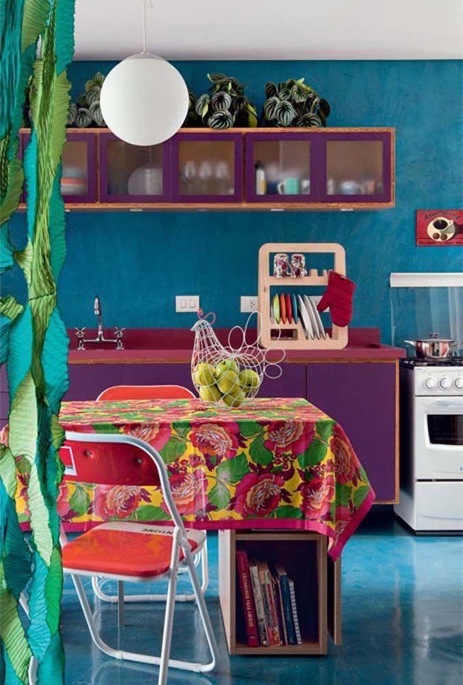 image45-4   Фиолетовый в интерьере: 60 идей, как и с чем сочетать