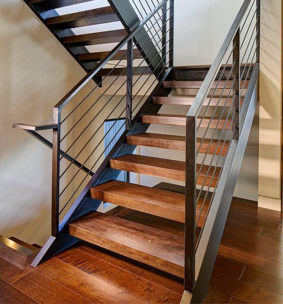 kl-7-2   Лестница в доме: на чем остановить выбор?