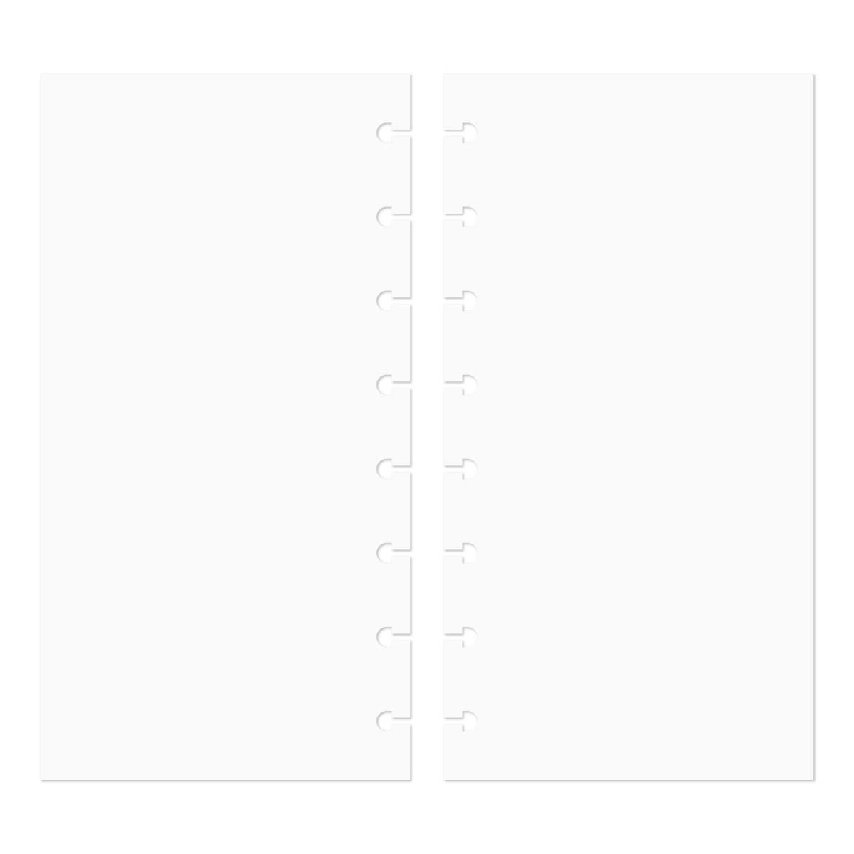 Discagenda Discbound Traveler S Notebook Insert Refills Blank