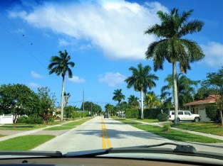 A street in Boca Raton (in case someone was wondering!